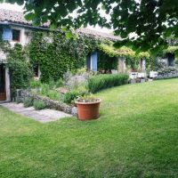 House for sale in France - front of house with guest entrance door to left.jpg